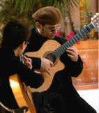 Flamenco Guitarists Javid & Naoko